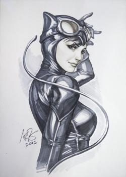 Drawn women catwoman