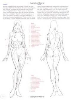 Drawn women comic character