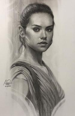 Drawn women portrait drawing