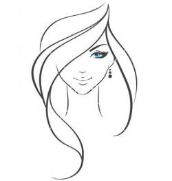 Drawn women vector