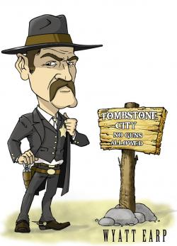 Drawn wyatt earp funny cartoon