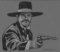 Drawn wyatt earp night