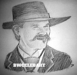 Drawn wyatt earp plain