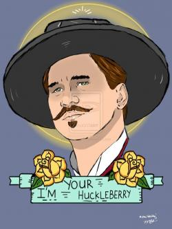 Drawn wyatt earp vector