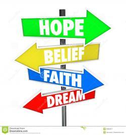 Dream clipart belief