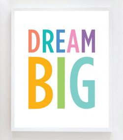 Dream clipart dream big