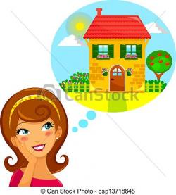 Dream clipart dream home