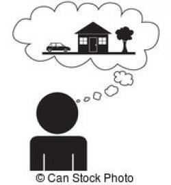 Dream clipart dream house
