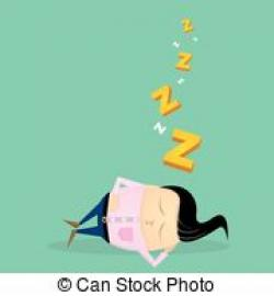 Dreaming clipart fall asleep