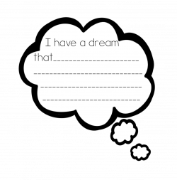 Dreaming clipart i have a dream