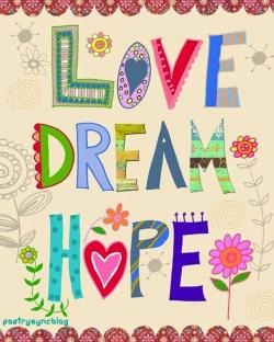 Dream clipart hope