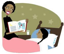 Stories clipart bedtime story