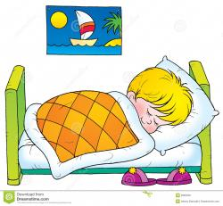 Dream clipart kid bedtime