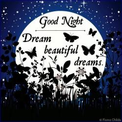 Dream clipart night moon