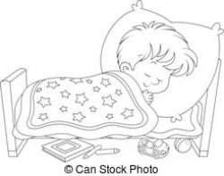Dream clipart sleepy boy
