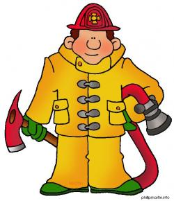 Firefighter clipart hook