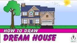 Villa clipart dream house