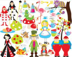 Queen clipart mad hatter