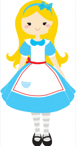 Dress clipart alice in wonderland