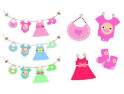 Dress clipart baby dress