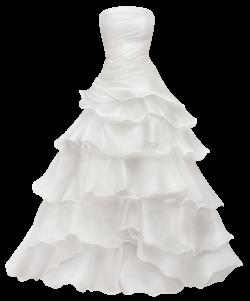 White Dress clipart