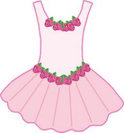 Dress clipart ballerina dress
