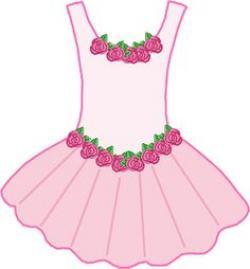 Dress clipart ballerina dress
