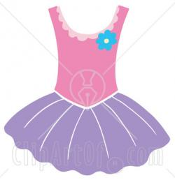 Ballet clipart ballerina dress