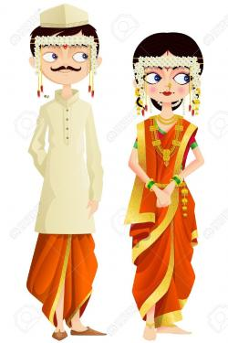 Traditional Costume clipart indian traditional clothing