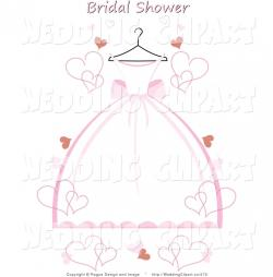 Dress clipart bridal shower
