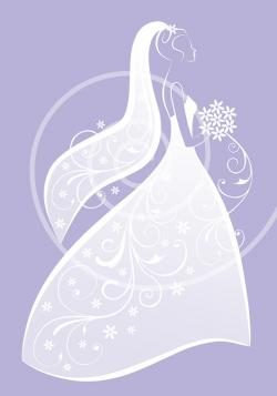 Gown clipart bridal shower