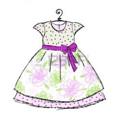 Dress clipart cute