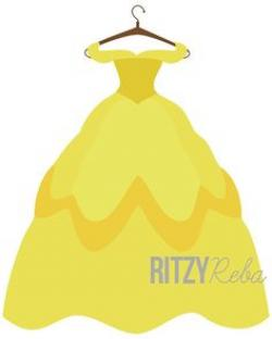 Dress clipart disney princess dress