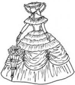 Hat clipart southern belle