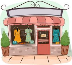 Dress clipart dress shop