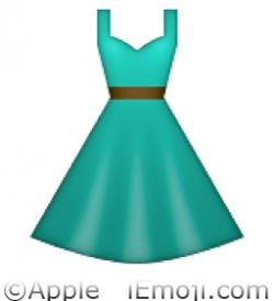 Dress clipart emoji