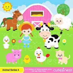 Ranch clipart animal farm