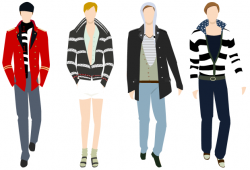 Suit clipart men's clothing