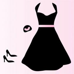 Gown clipart formal wear