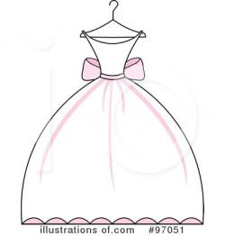 Gown clipart illustration