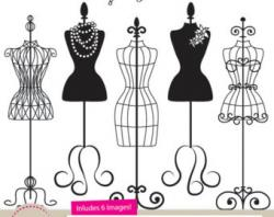 Gown clipart dress mannequin