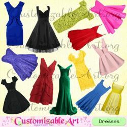 Gown clipart fashion dress