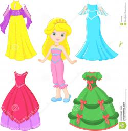 Gown clipart princess dress