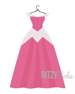 Dress clipart princess aurora