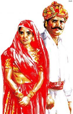Dress clipart rajasthani