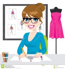 Sketch clipart fashion design