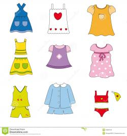 Dress clipart spring clothes