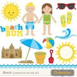Coast clipart sunny season