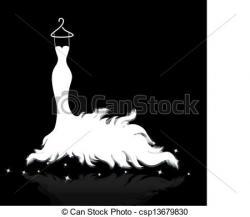 Wedding Dress clipart wedding artwork