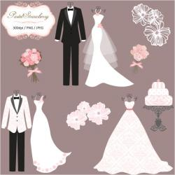 Gown clipart tuxedo